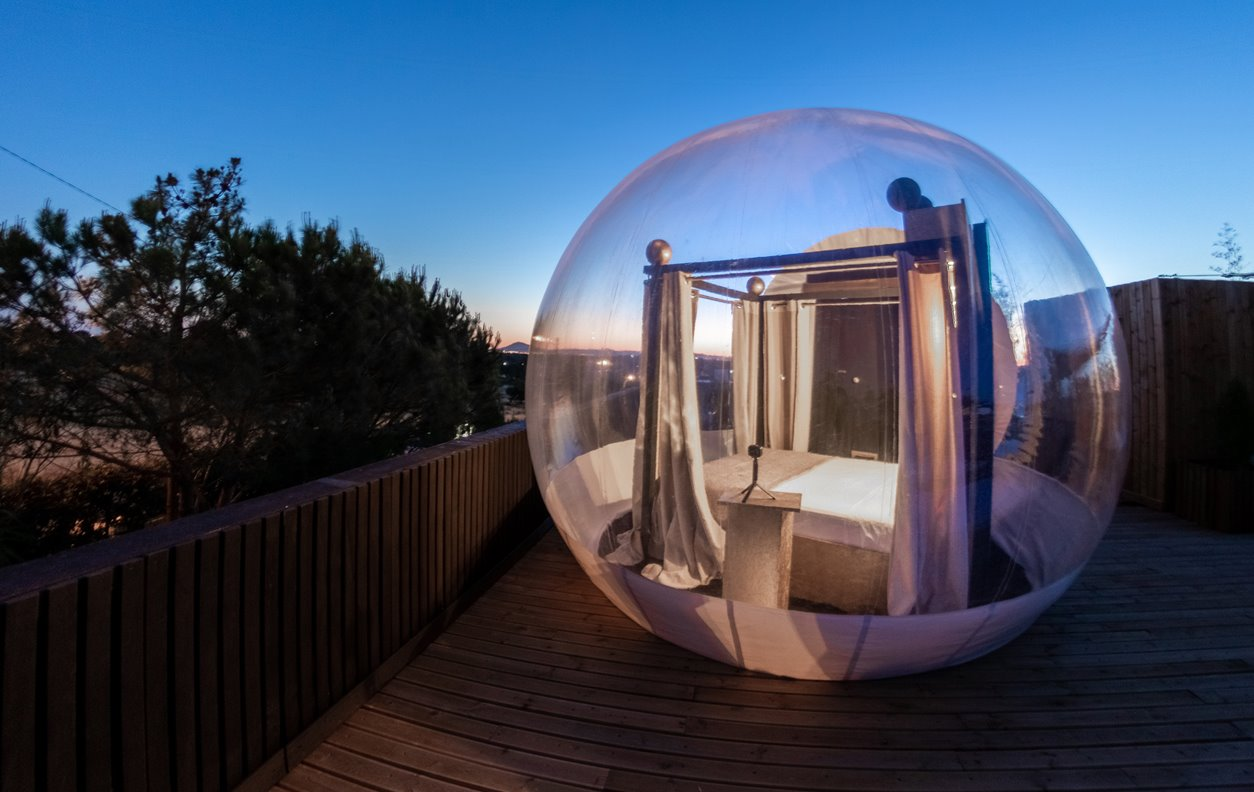 Tenda SKY : Jacuzzi privativo