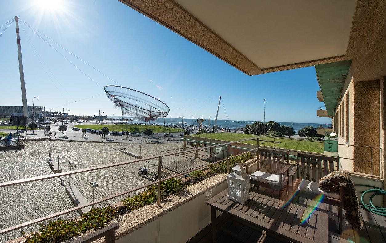 Apartamento de Férias com Piscina, Vista Mar, AQ.Central e Wi-Fi - Próximo Praia de Motosinhos - 12311