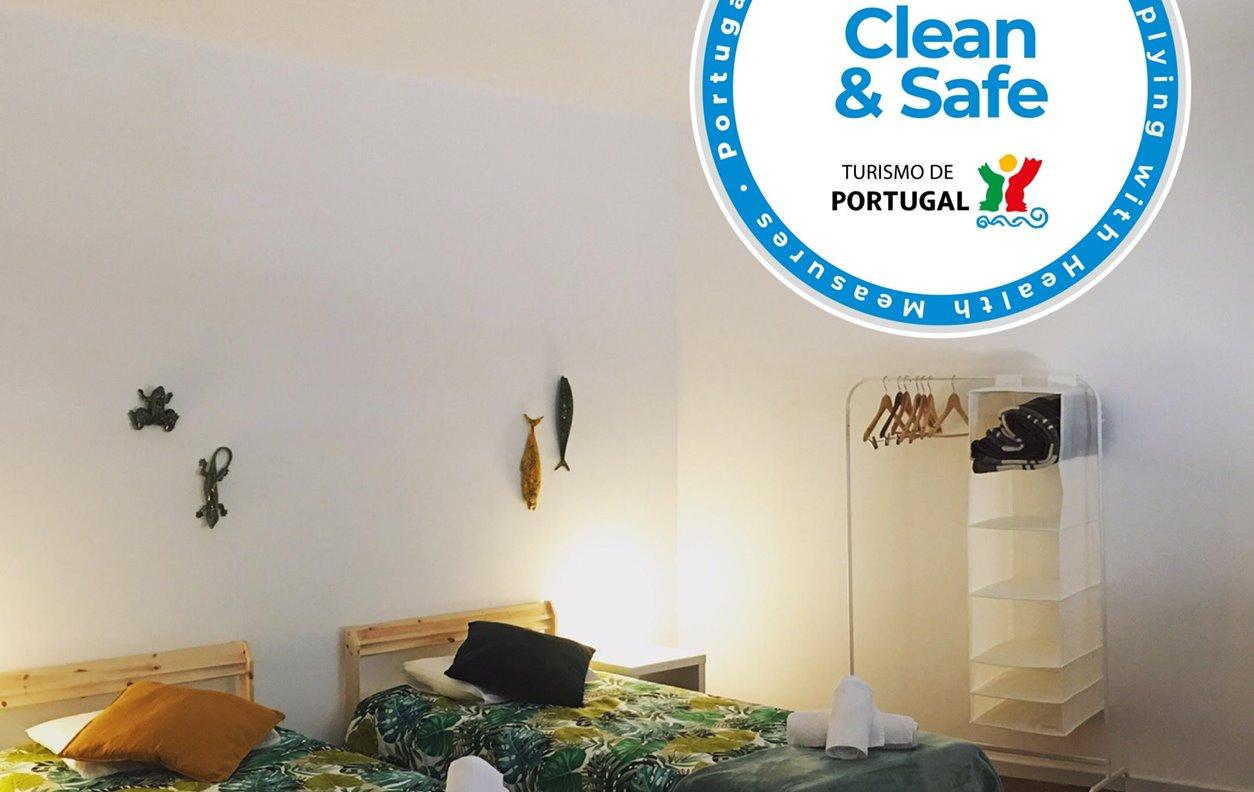Apartamento de Férias no Centro da Cidade com Wi-Fi - Próximo Museu da Ceramica - 12419