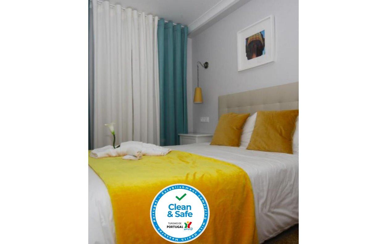 Noite Grátis - Apartamento de Férias com Vista Mar, Sustentável, adaptada Mobilidade Reduzida, Wi-Fi - Próximo Praia Nazaré - 12424