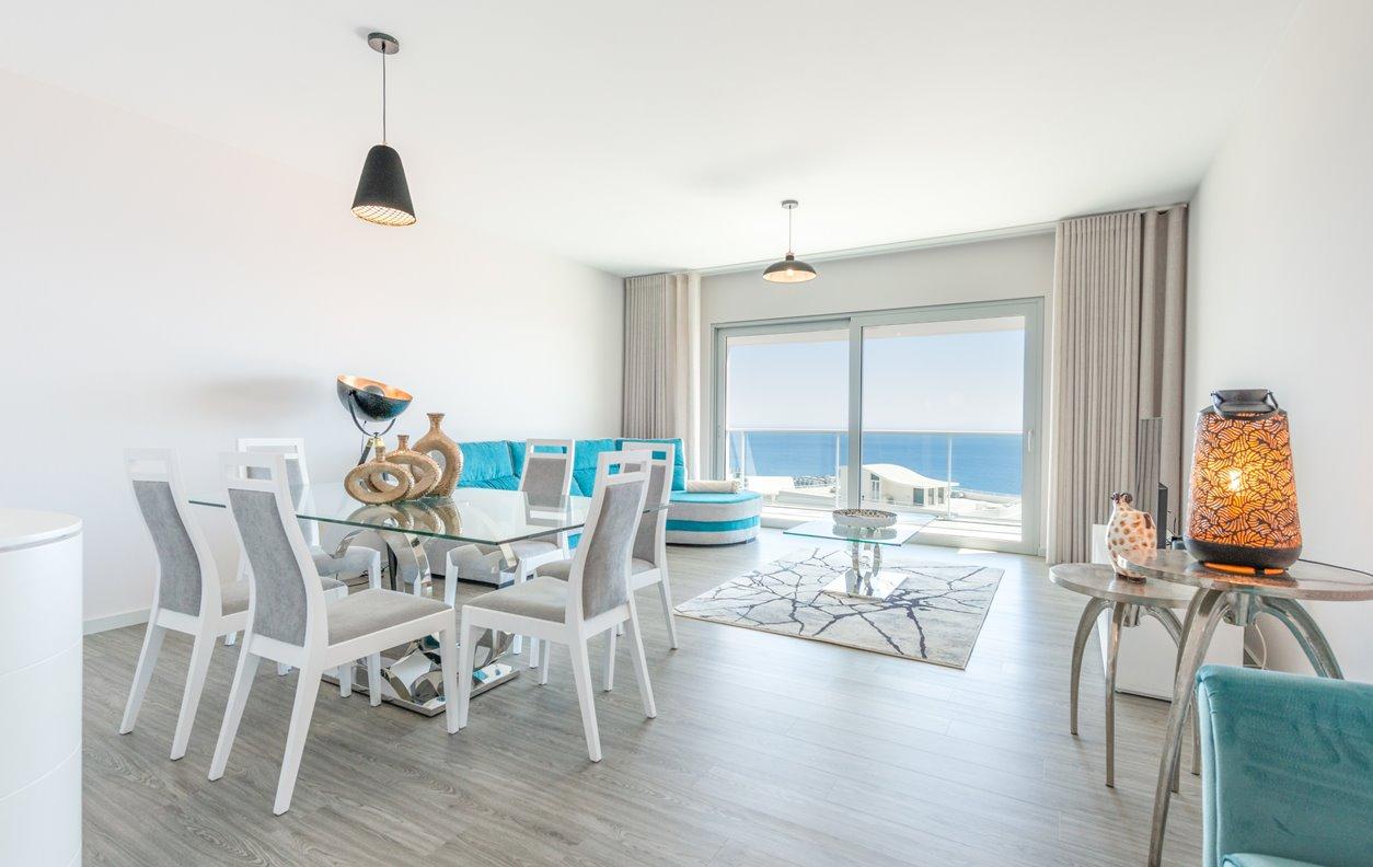 Apartamento com Piscina, Jacuzzi, Vista Mar, Sustentável e Wi-Fi  - Próximo da Praia Formosa - 12486