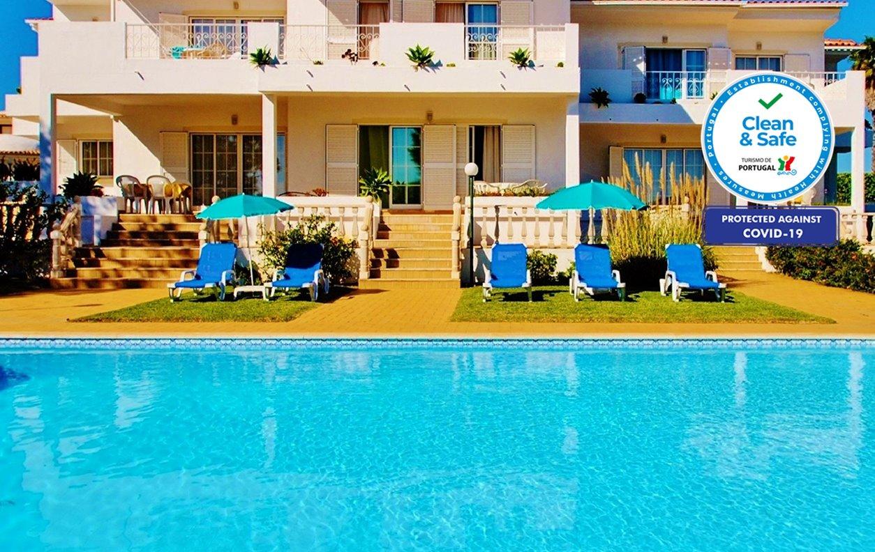 Bella Vista 3  - Apartamento c/ Piscina, Vista Mar, A/C, BBQ e Wi-Fi  - 12496