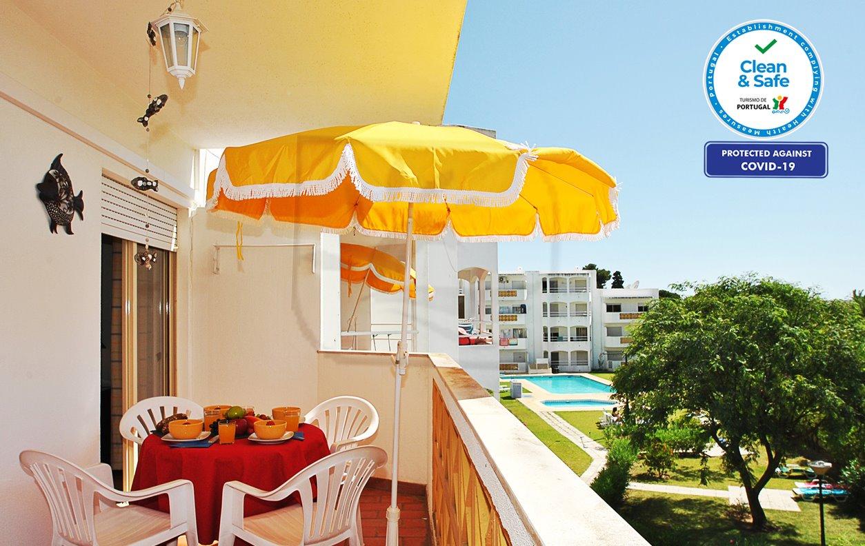 Formentera  - Apartamento de Férias Com Piscina, Varanda, A/C e Wi-Fi  - 12521