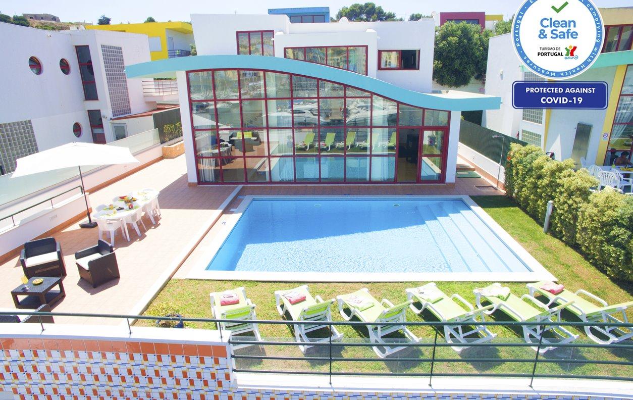 Malibu - Moradia T3 Marina de Albufeira, Piscina Aquecível, AC, Wifi