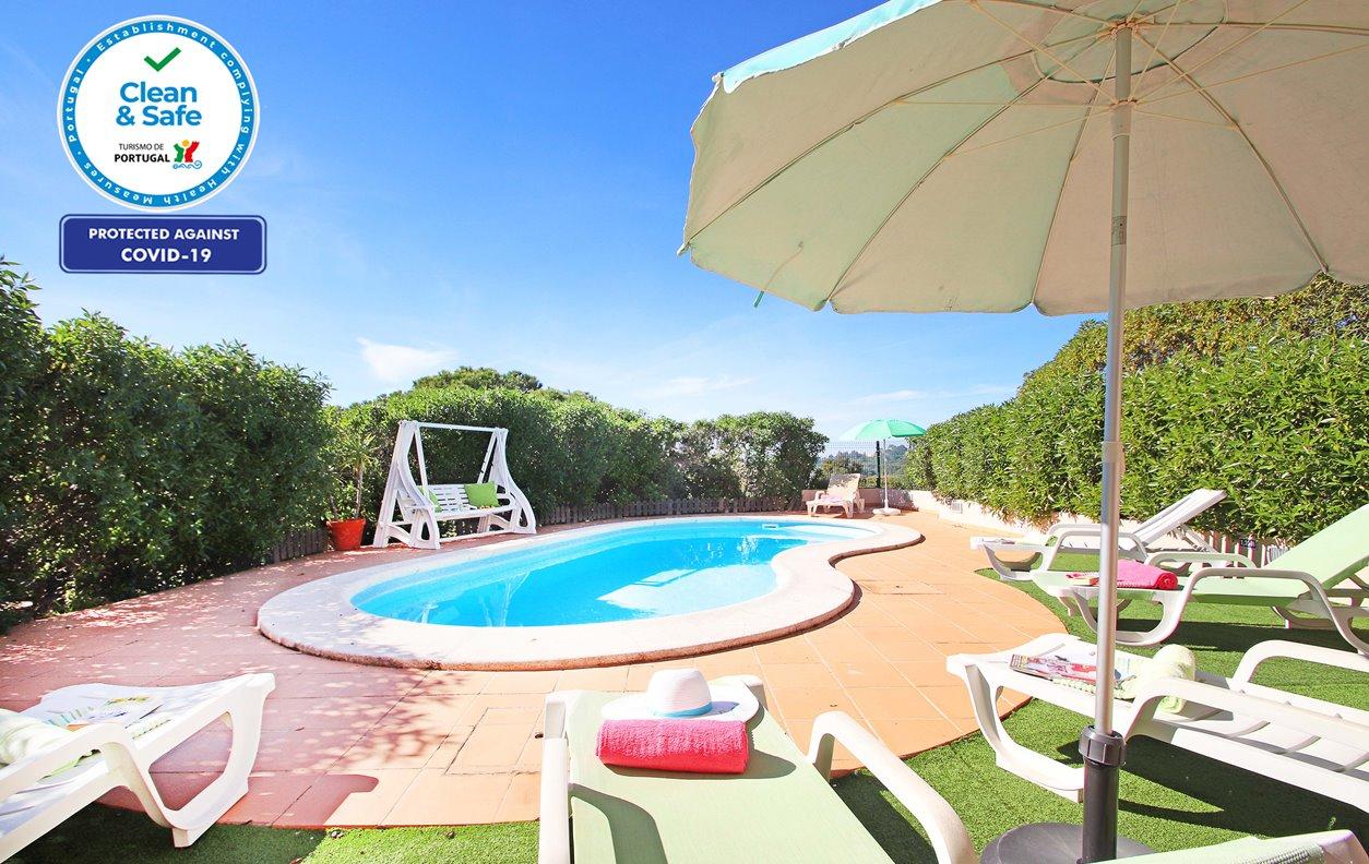 Sunset - Moradia T3 Carvoeiro, Piscina, A/C, Wifi, Barbecue, Vista Mar