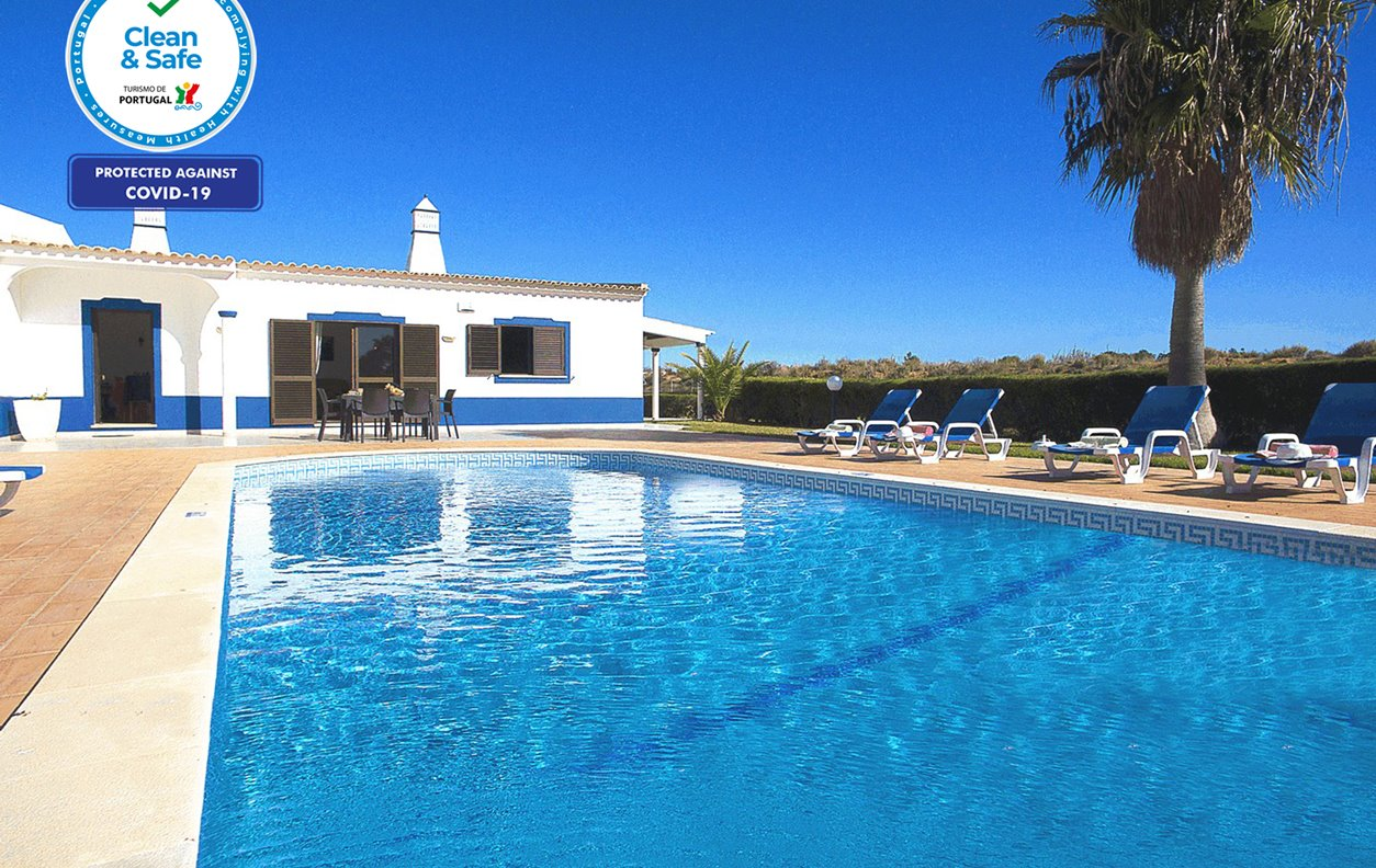 Villa Sardenha - Moradia T3 Guia, Albufeira, Piscina Privada, AC, Wifi