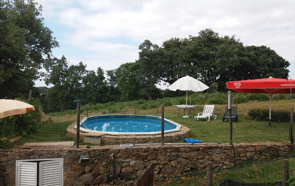 Casa de Campo com Piscina, Vista Montanha, Sustentável, A/C, BBQ e Wi-Fi - Próximo Parque de Esculturas de Marvao - 12869