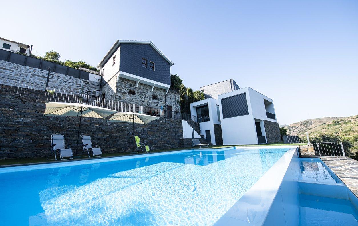 Casa de Férias com Piscina e Jardim, A/C, BBQ e Wi-Fi - Em pleno Douro Vinhateiro - 13142