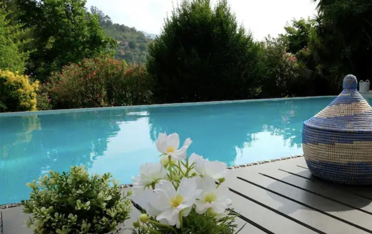 Apartamento de Férias com Piscina e Jardim, A/C, BBQ Privado e Wi-Fi - a 500m do rio - 13149