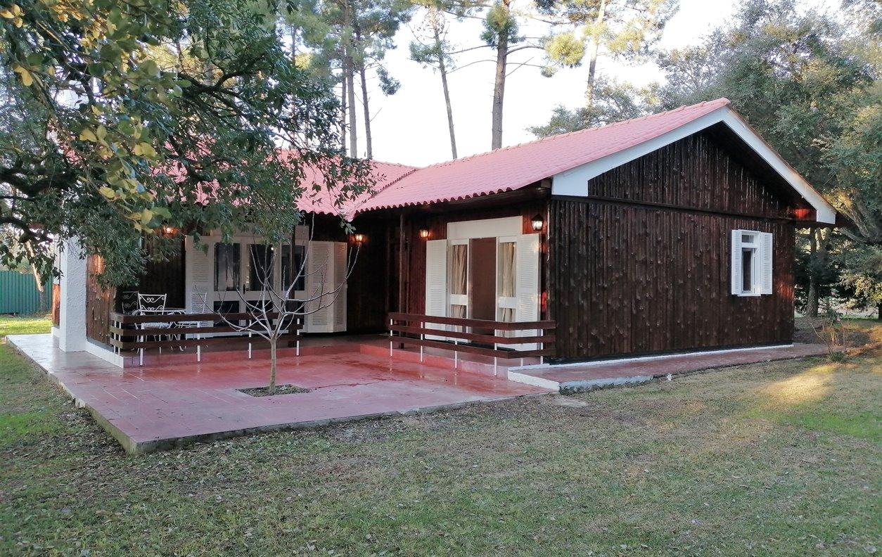Casa de Campo para Férias com Piscina Aquecível coberta, Jardim e Wi-Fi - Próximo da Mata de Oleiros - 13163