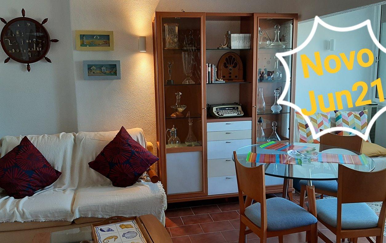Apartamento de Férias com Vista Mar, Kitchenette e Wi-Fi - 5 min. a pé da praia - 13236