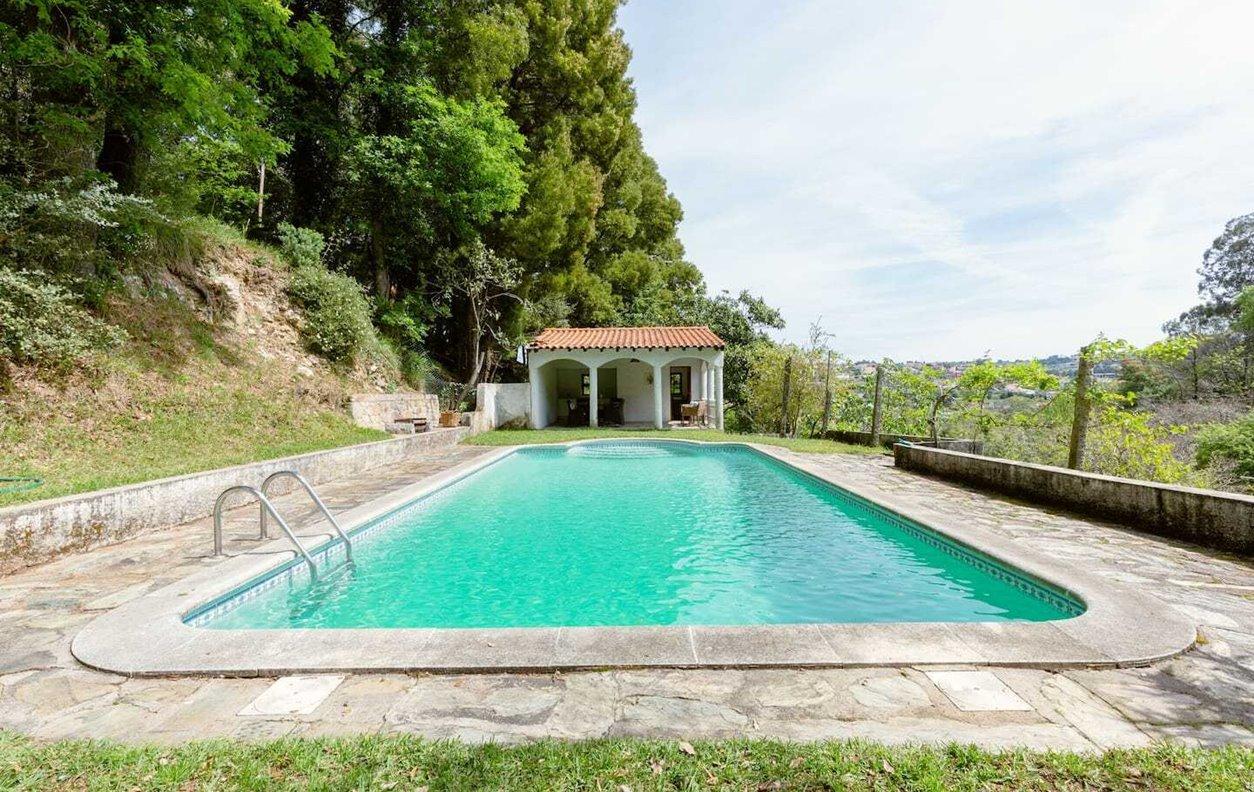 Casa de Férias com Piscina Privada e Jardim, BBQ - Próximo ao Rio Douro - 13240